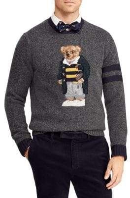 Polo Ralph Lauren UniversityPolo Bear Wool& Cashmere Sweater