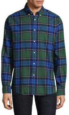 Barbour Tartan Cotton Casual Button-Down Shirt