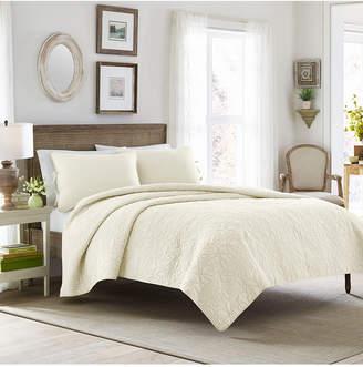 Laura Ashley Full/Queen Felicity Quilt Set Bedding