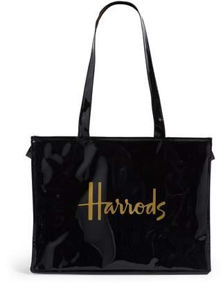 Harrods Signature Logo Tote Bag