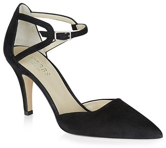 HOBBS LONDON Paloma Pointed Toe d'Orsay Pumps $285 thestylecure.com