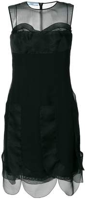 Prada panelled dress