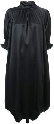 ADAM by Adam Lippes flared mock-neck midi dress