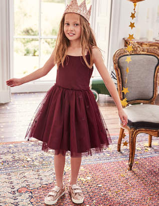 Boden Star Tulle Party Dress