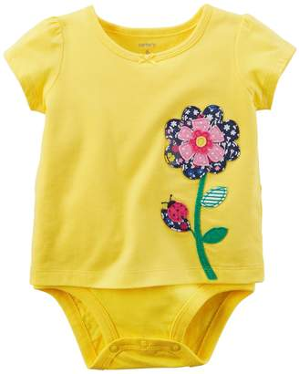 Carter's Baby Girl Balloon Bodysuit