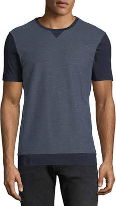 BOSS Men's Honeycomb Cotton T-Shirt