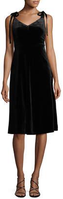 Allison Collection Velvet Slip Dress