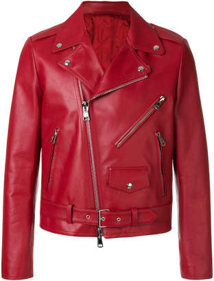 Valentino Always print biker jacket