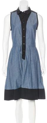 Proenza Schouler Sleeveless Knee-Length Dress