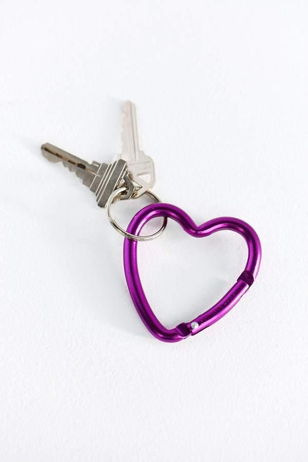 Bison Designs Heart Carabiner Clip Keychain