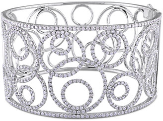 Diamond Select Cuts 14K 5.79 Ct. Tw. Diamond Bangle