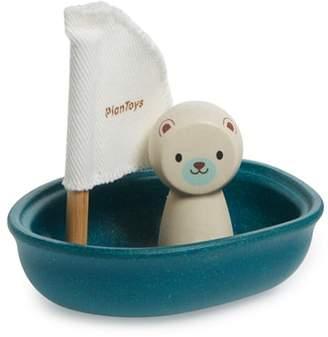 Plan Toys R) Polar Bear Sailing Boat Toy