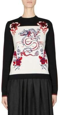 Kenzo Dragon Knit Pullover