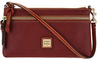Dooney & Bourke Pebble Leather Zip TopWristlet
