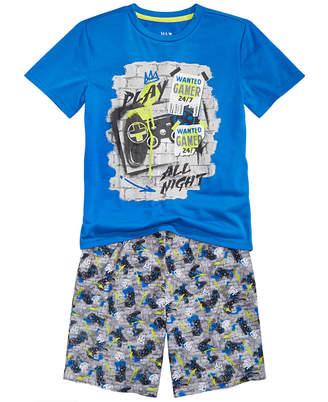 LTB Max & Olivia Little & Big Boys 2-Pc. Gamer Pajamas Set