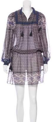 Ulla Johnson Silk Knee-Length Tunic Dress