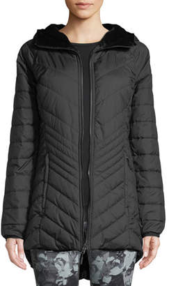 The North Face Mossbud FlashDry-XD Insulated Reversible Parka Jacket
