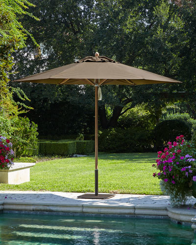 Santa Barbara Designs Cocoa Standard Canopy Outdoor Umbrella