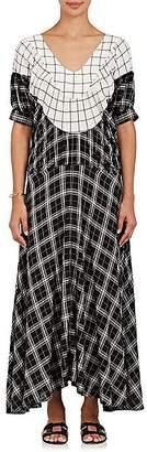 Warm Women's Sol Plaid Voile Maxi Dress