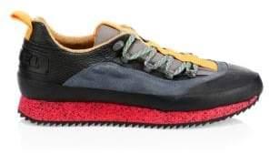 Diesel Men's Tribute Hike Sneakers - Black Multi - Size 7.5