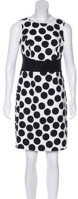 Alyx Polka Dot Sheath Dress