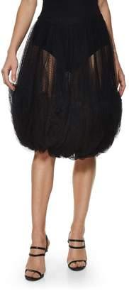 Comme des Garcons Black Tulle Bubble Skirt