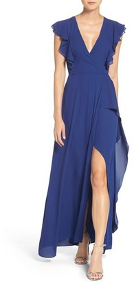 Women's Bcbgmaxazria Georgette Fit & Flare Gown $298 thestylecure.com