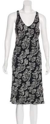 Maiyet Jacquard Midi Dress