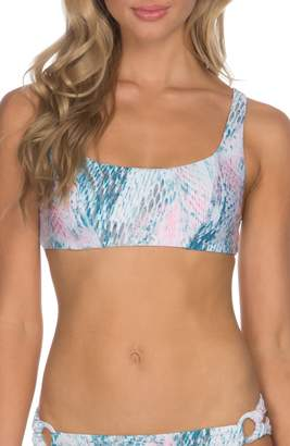 Isabella Collection ROSE Everglades Bikini Top
