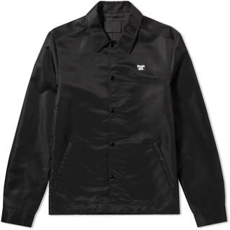 Alexander Wang Post Black Nylon Patch Coach Jacket