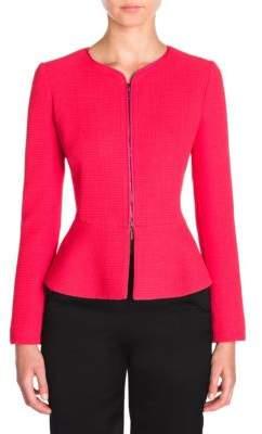 Wool Zip-Front Jacket