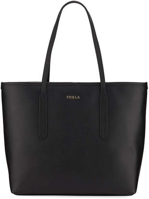 Furla Ariana Medium Leather Tote Bag, Medium Pink