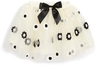 Popatu Embroidered Daisy Tutu Skirt