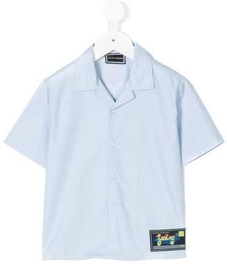 Versace shortsleeved button shirt