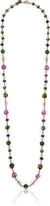The Sak long beaded strand necklace