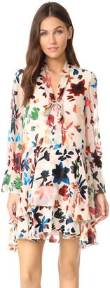 alice + olivia Moran Layered Dress $465 thestylecure.com