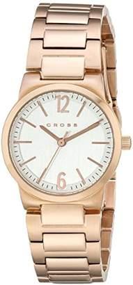 Cross Women's CR9018-33 New Roman Analog Display Japanese Quartz Rose Gold Watch
