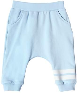Fendi Cotton Sweatpants W/ Stripes