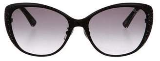 Chopard Jewel-Embellished Cat-Eye Sunglasses