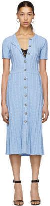 Altuzarra Blue Knit Abelia Dress