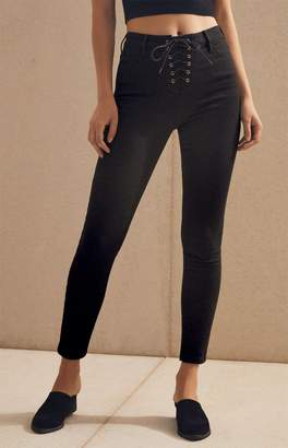 PacSun Magic Black High Rise Jeggings