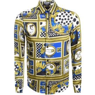 Versace Long Sleeved Shirt Blue