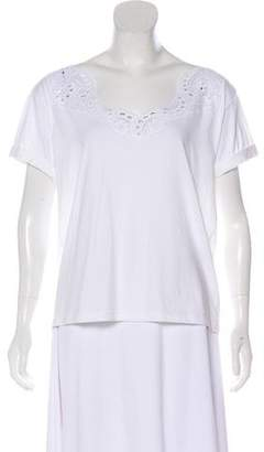 Alexis Mabille Short Sleeve Lace Top w/ Tags