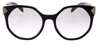 Prada Round Gradient Sunglasses