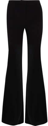 Gareth Pugh Flared Crepe Pants - Black