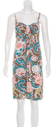 Tommy Bahama Sleeveless Floral Print Dress