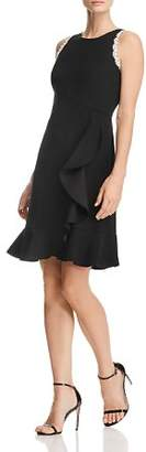 Nanette Lepore nanette Ruffled Crepe Dress