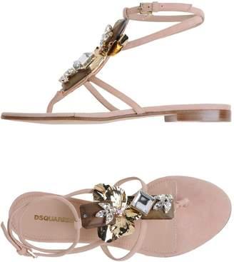 DSQUARED2 Toe strap sandals