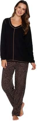 Stan Herman Micro Fleece Novelty Pajama Set