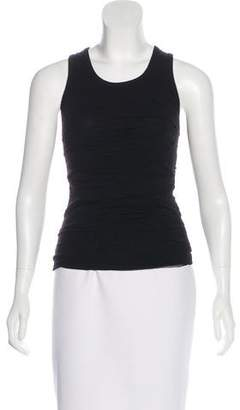 Robert Rodriguez Ruched Sleeveless Top